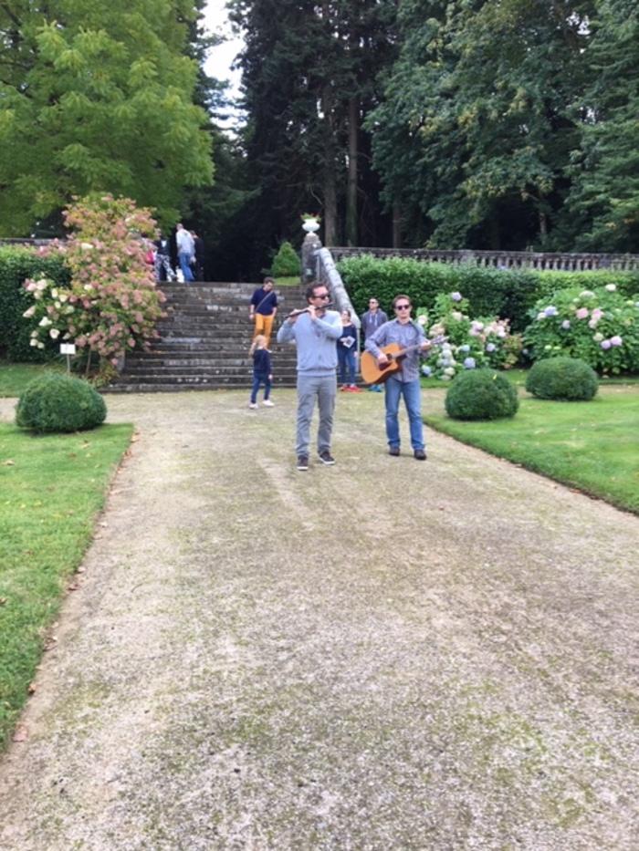 Journées du patrimoine 2020 - Concert ambulant dans le parc du château de Lesquiffiou