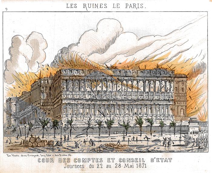 Journées du patrimoine 2019 - La Cour des comptes du Second Empire à la Troisième République