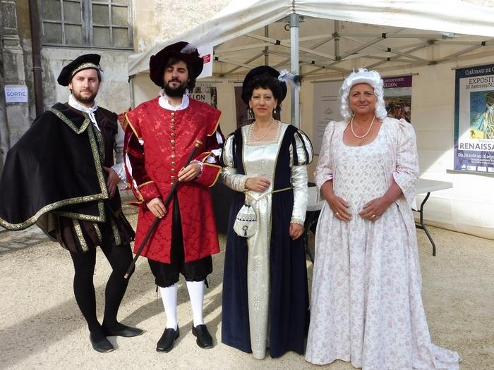 Journées du patrimoine 2019 - Visite du château de Gaillon en costume d'époque