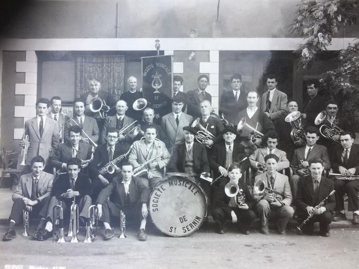 Journées du patrimoine 2019 - Exposition sur la Société musicale de Saint-Sernin et l'orchestre Biscampas qui a animé le territoire pendant de longues années
