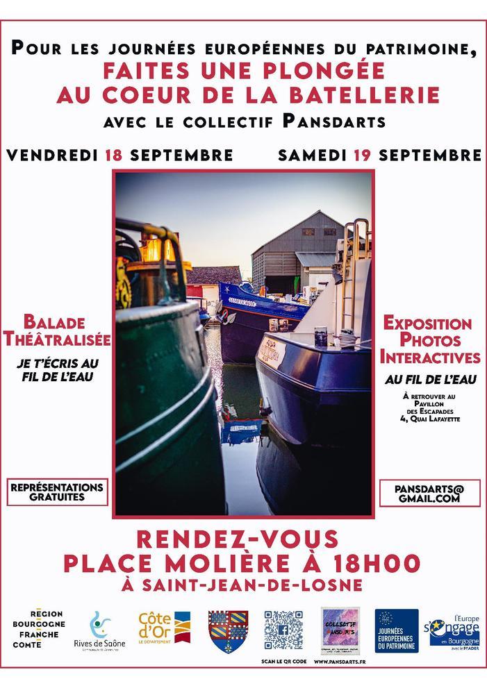 Journées du patrimoine 2020 - Plongée au coeur de la battellerie