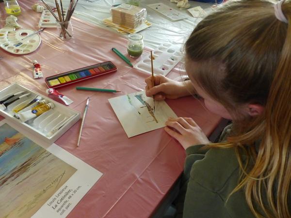 Nuit des musées 2019 -Présentation des projets La classe l'oeuvre
