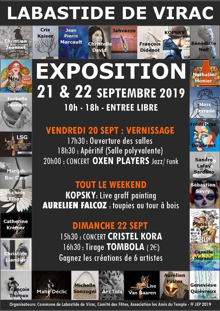 Journées du patrimoine 2019 - Exposition collective