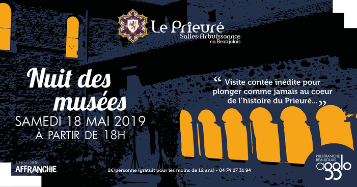 Nuit des musées 2019 -Visite contée