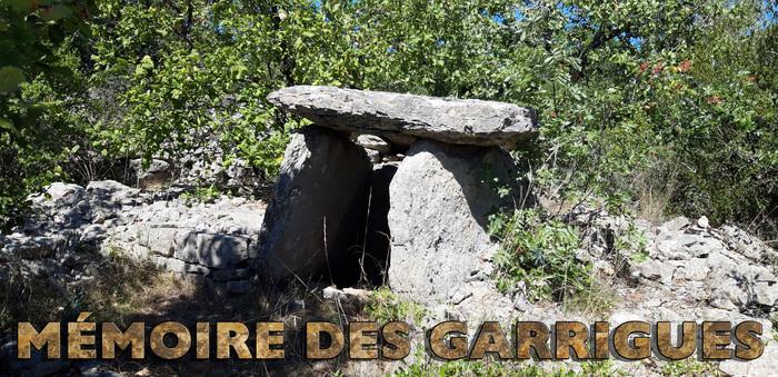 Journées du patrimoine 2020 - Exposition sur les dolmens : Mémoire des garrigues
