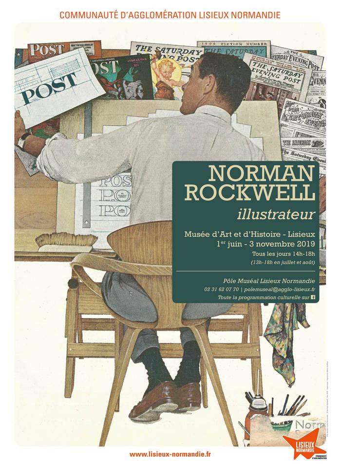 Journées du patrimoine 2019 - Exposition Norman Rockwell, illustrateur