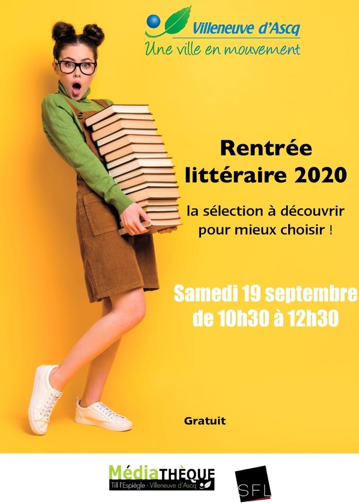 Journées du patrimoine 2020 - Annulé | Présentation de la rentrée littéraire