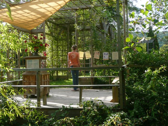 Journées du patrimoine 2020 - Une promenade pleine de sens : visite orientée d'Un jardin philosophe à Boersch
