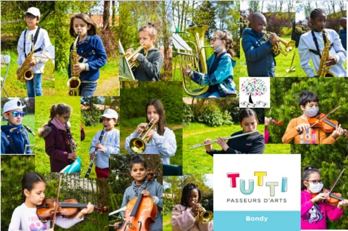 Sessions orchestrales des CItés musicales Tutti Passeurs d'Arts de Bondy