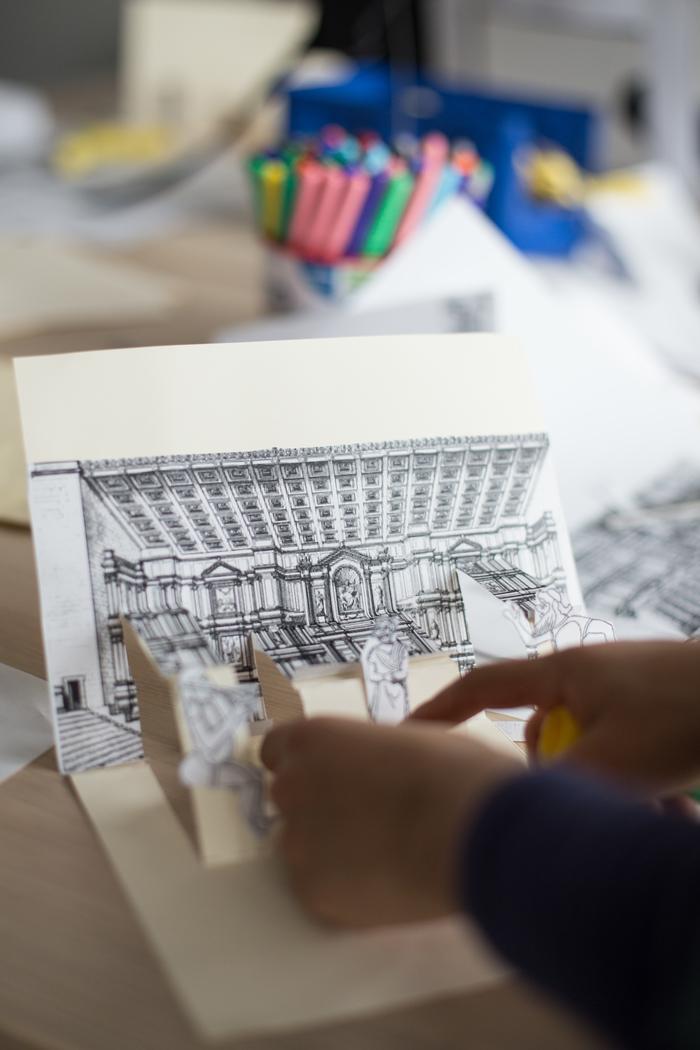 Journées du patrimoine 2020 - Atelier pop-up antique