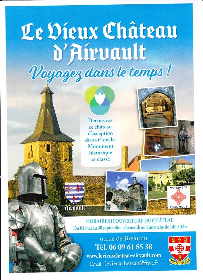Journées du patrimoine 2020 - Visite d'un château médiéval