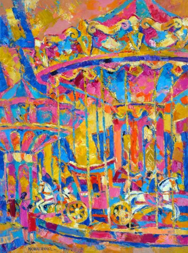 Nuit des musées 2019 -Exposition R. Micheau-Vernez