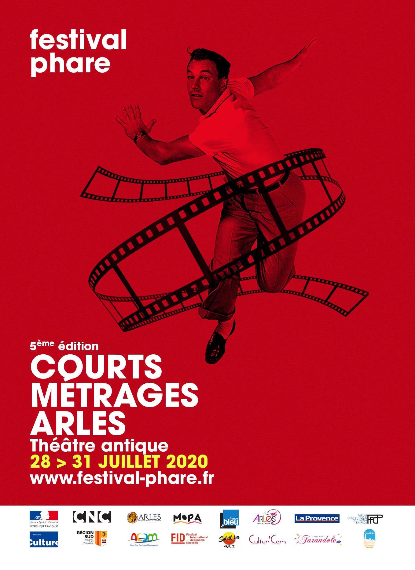 Du 28 au 31 juillet 2020, la 5e édition de Phare se tiendra au Théâtre antique d'Arles et sera l'occasion de découvrir une trentaine de courts métrages audacieux durant quatre soirées débridées !