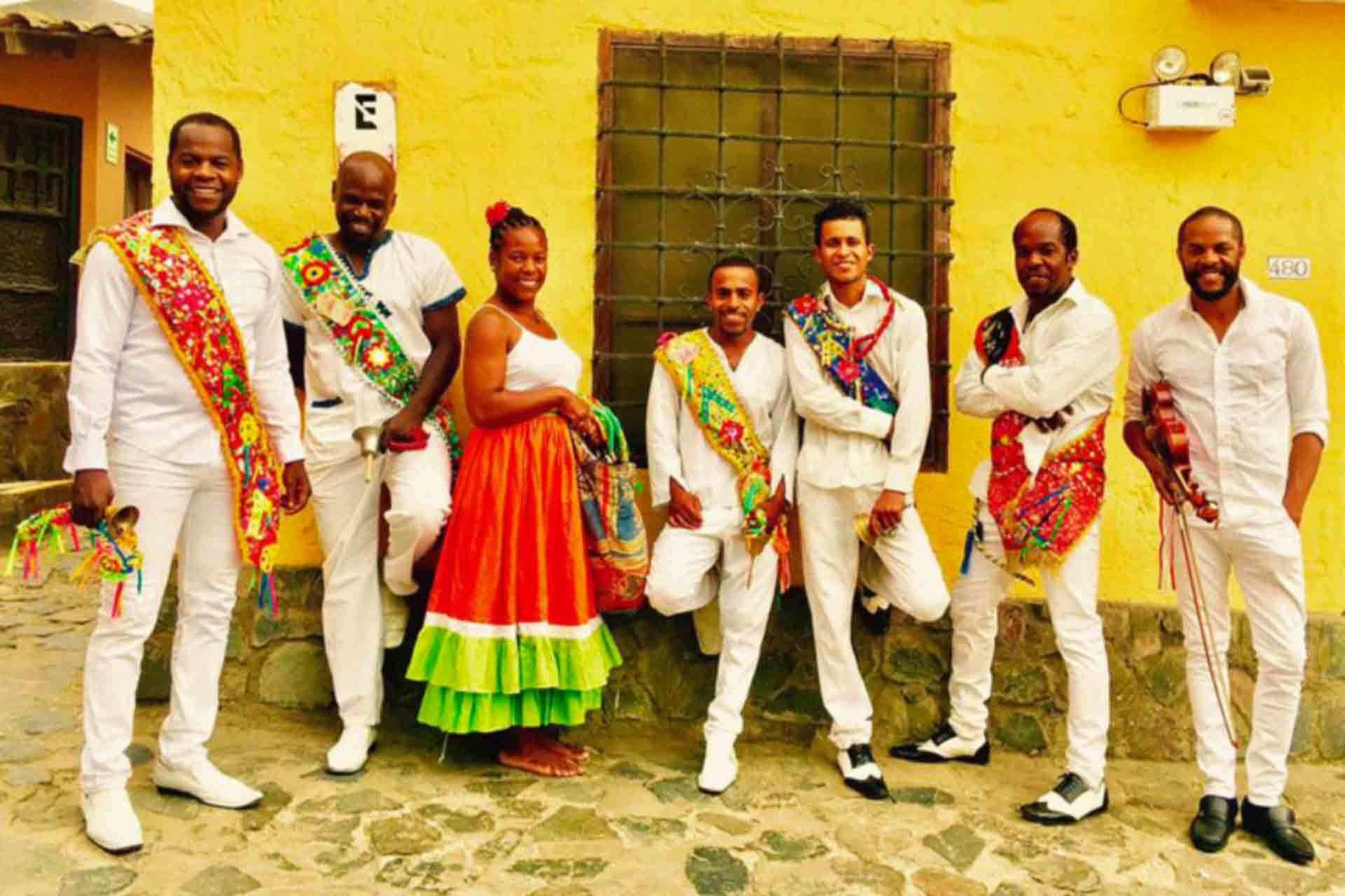 Danse de l'Atajo Afroandino-Péruvien
