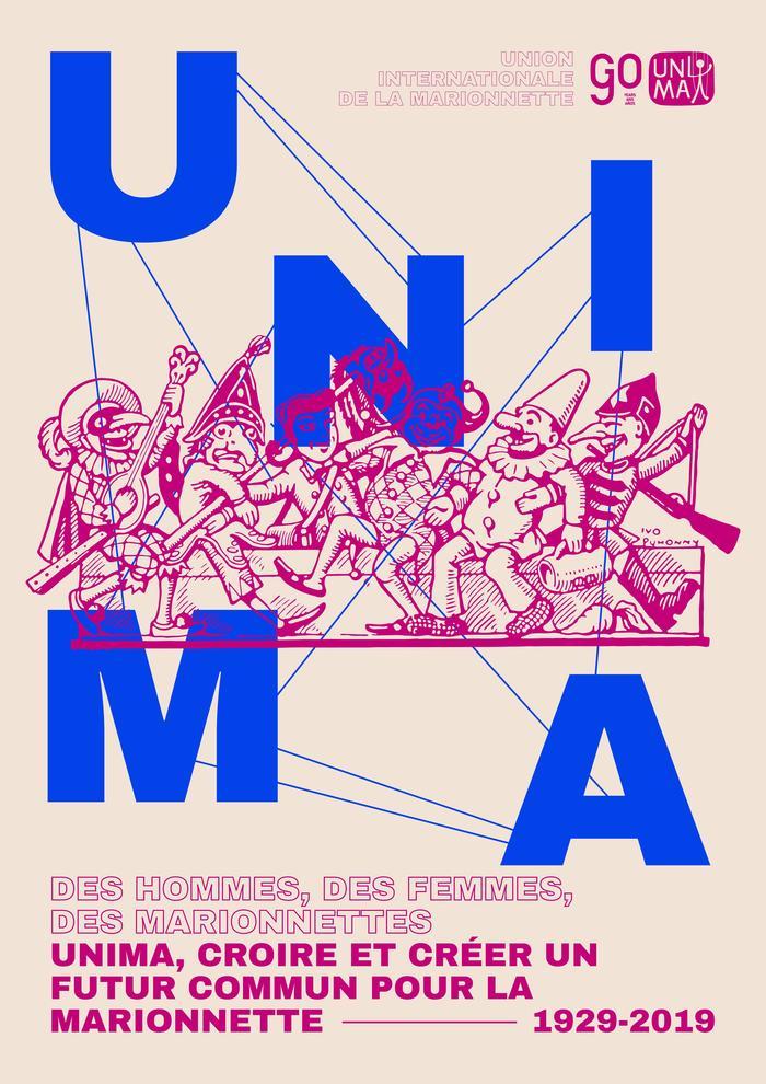Journées du patrimoine 2019 - Exposition «Des hommes, des femmes, des marionnettes: UNIMA, croire et créer un futur commun pour la marionnette»