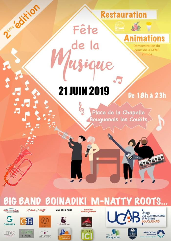 Fête de la musique 2019 - Union des commerçants et des artisans de Bouguenais