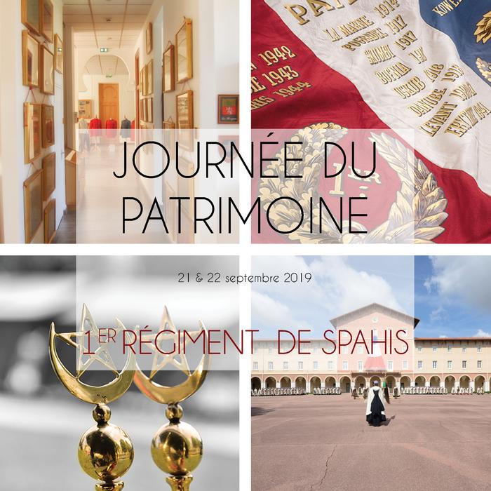 Journées du patrimoine 2019 - Visite du musée des spahis et de ses infrastructures historiques