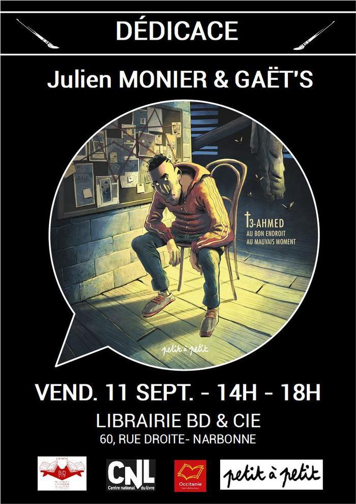 Dédicace de Julien MONIER et de GAËT'S pour RIP T.3 aux éditions Petit à Petit