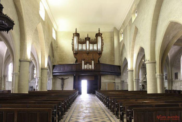 Journées du patrimoine 2020 - Découverte de l'orgue de l'église Saint-Marien de Vic-sur-Seille