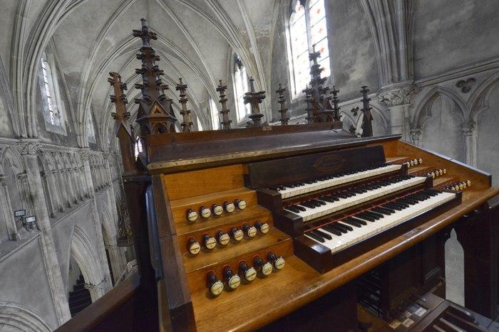 Journées du patrimoine 2020 - Quart d'heure musical à l'église Saint-Amé