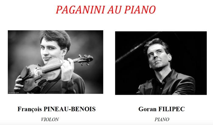 Journées du patrimoine 2019 - Concert -  Paganini au piano
