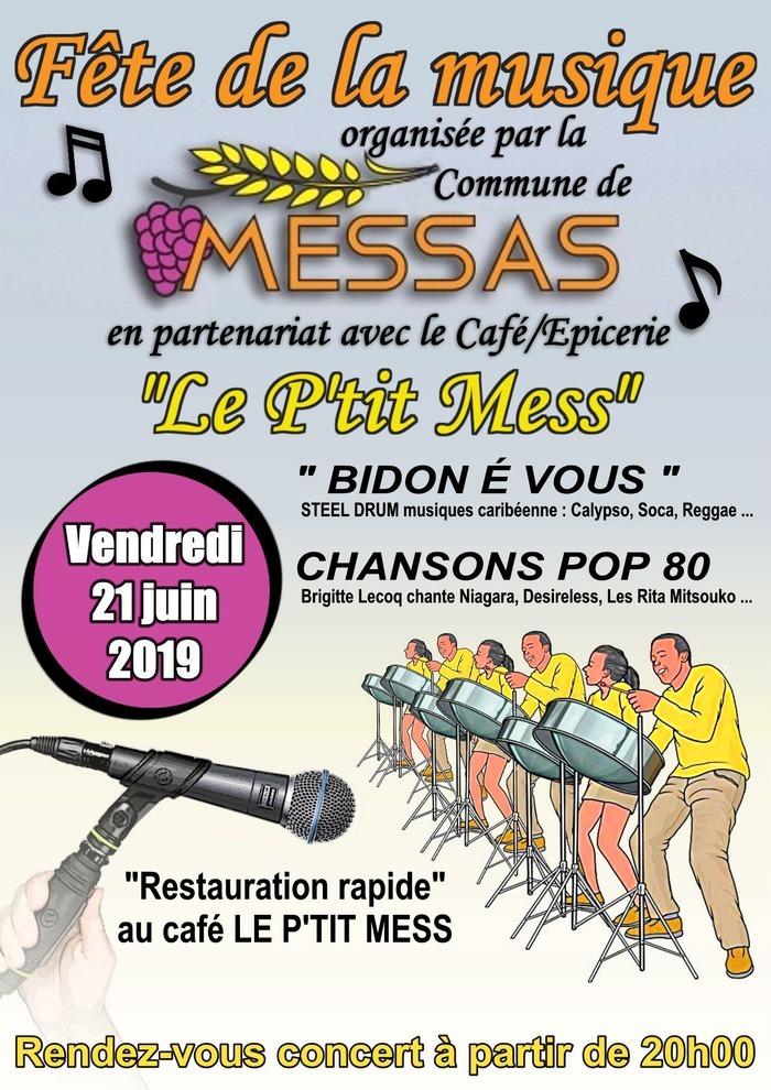 Fête de la musique 2019 - Steel Band et chansons pop françaises des années 80