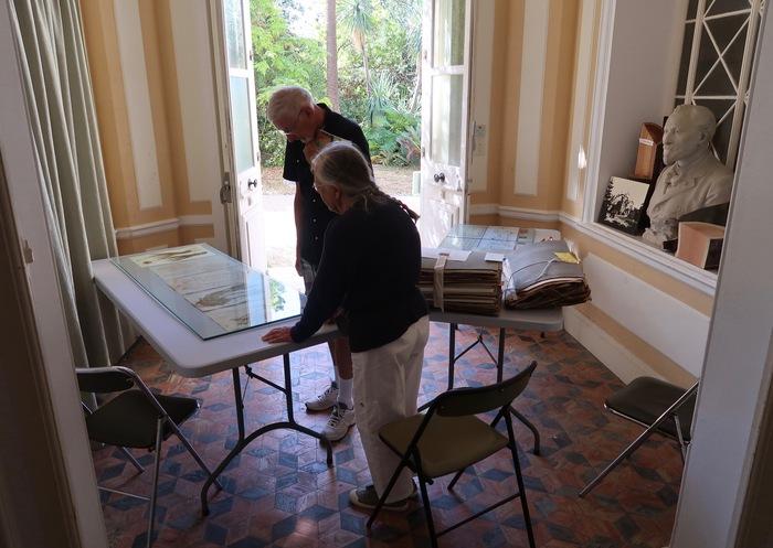 Journées du patrimoine 2019 - Restauration de l'herbier historique de Monsieur Thuret