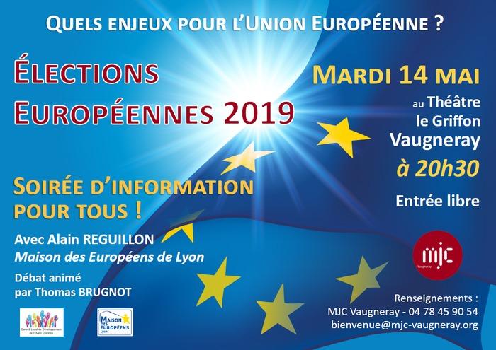 Soirée d'information : Quels enjeux pour l'Union Européenne ?