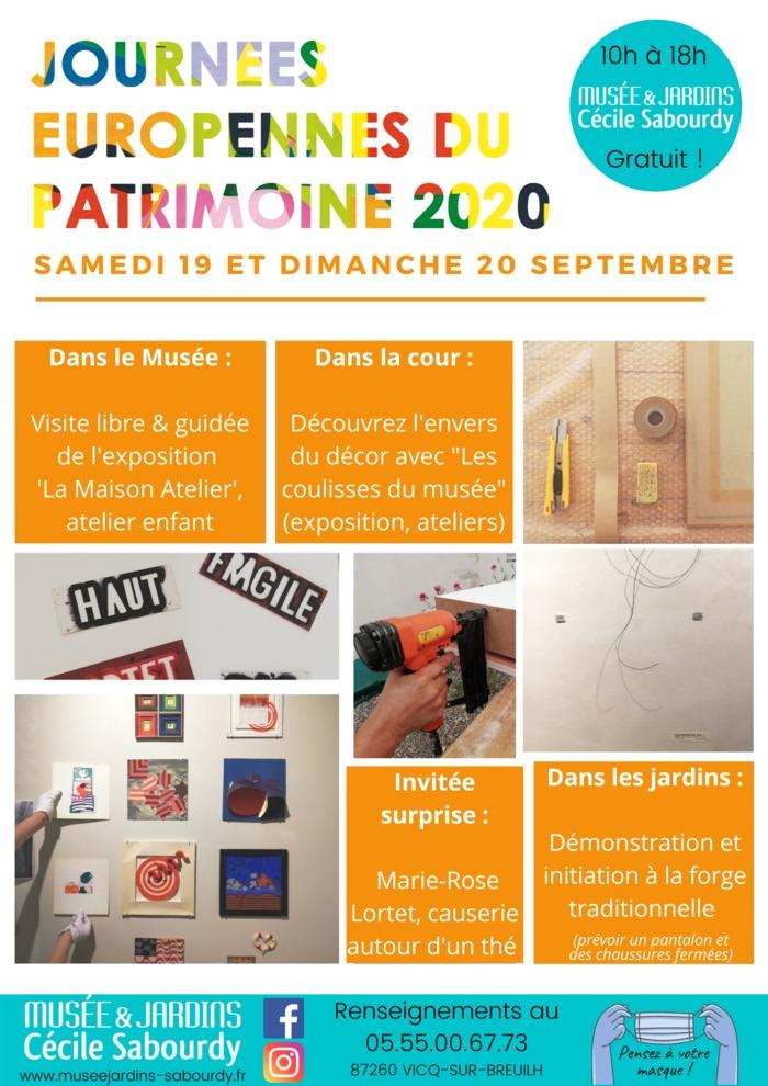 Journées du patrimoine 2020 - Les coulisses du musée