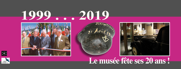 Nuit des musées 2019 -Les 20 ans du Musée - 1999 - 2019