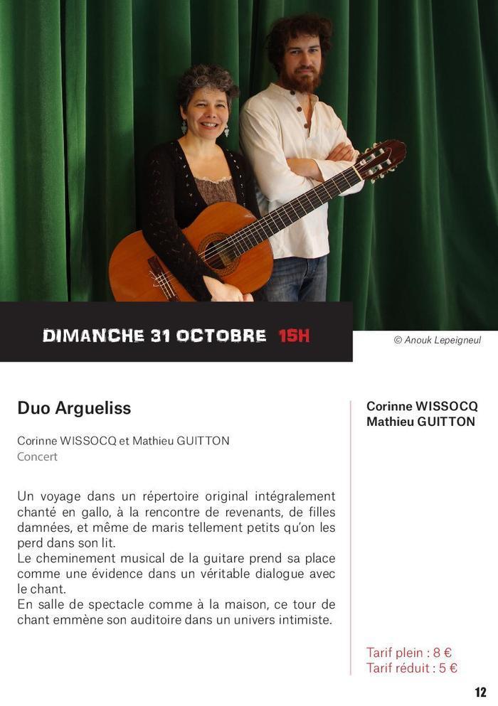 CONCERT - Duo Arguelis