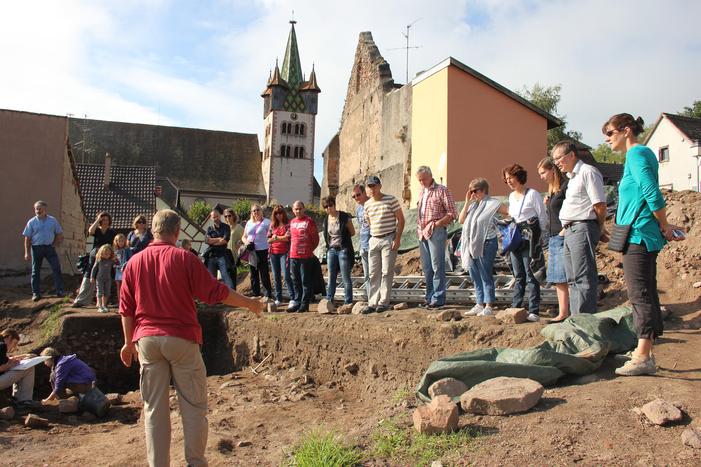 Journées du patrimoine 2019 - Visite guidée d'un site archéologique dans le Quartier du Château de Châtenois