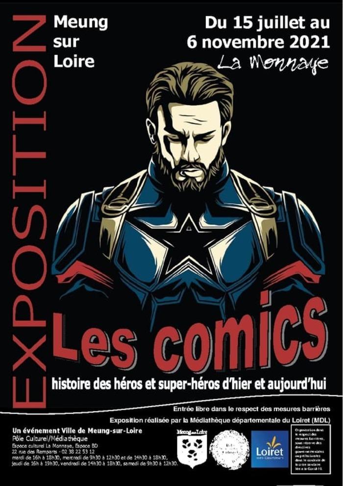 Venez redécouvrir les héros des plus grands Comics