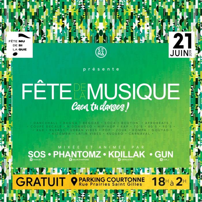 Fête de la musique 2019 - Caen tu danses !