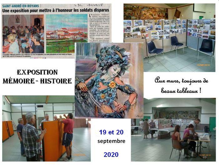 Journées du patrimoine 2020 - Mémoire et histoire du village