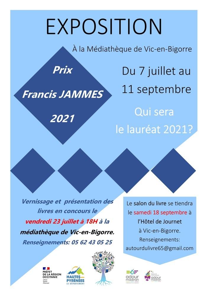 Exposition sur le Prix littéraire Francis Jammes