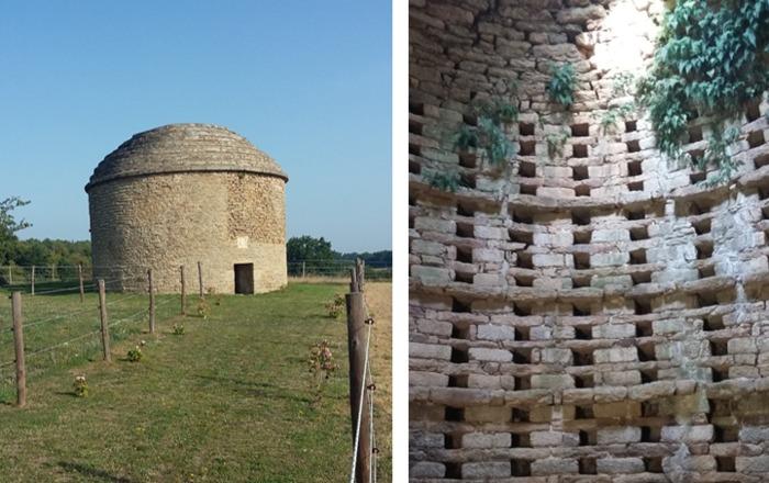 Journées du patrimoine 2020 - Visite libre et commentée du pigeonnier de Quisteny.