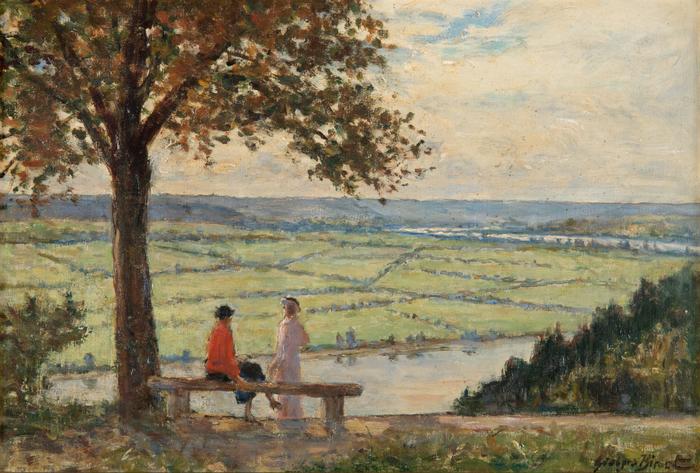 Journées du patrimoine 2020 - Exposition : Dans la peau de Georges Binet, peindre et flâner en bord de Seine.