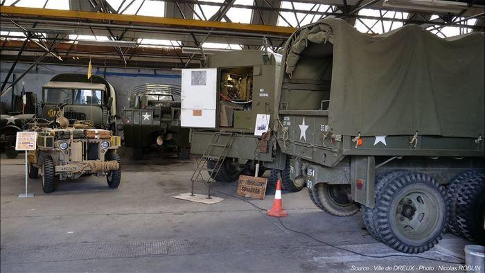 Journées du patrimoine 2019 - Présentation de véhicules militaires de collection