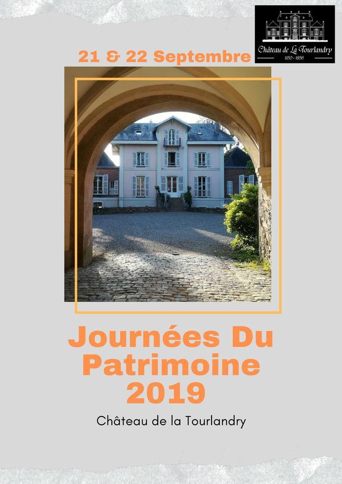 Journées du patrimoine 2019 - Découverte du Château de la Tourlandry XIè-XIXè siècle (première année d'ouverture au public)