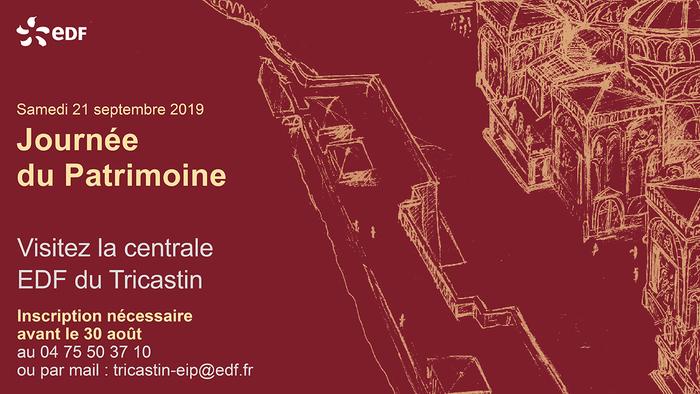 Journées du patrimoine 2019 - Visite guidée de la centrale EDF du Tricastin
