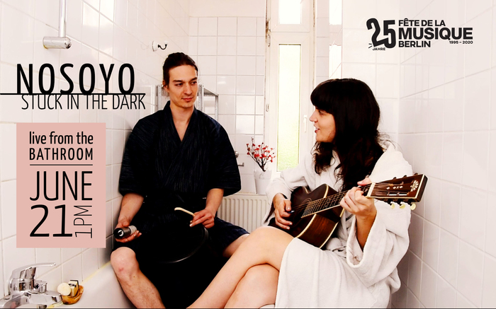 NOSOYO live from their bathroom!