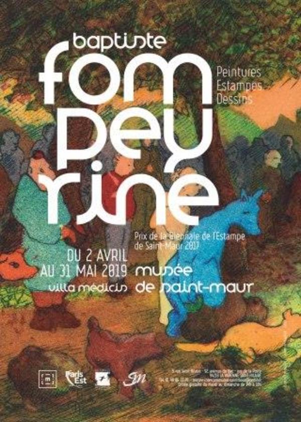 Nuit des musées 2019 -Visite commentée de l'exposition Baptiste Fompeyrine, Prix de la Biennale de l'estampe 2017