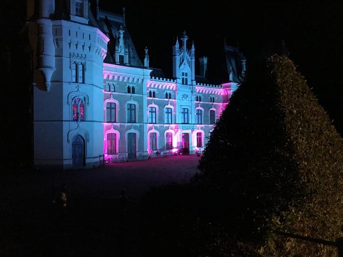 Journées du patrimoine 2019 - Illumination extérieure et intérieure du château de Chanzeaux