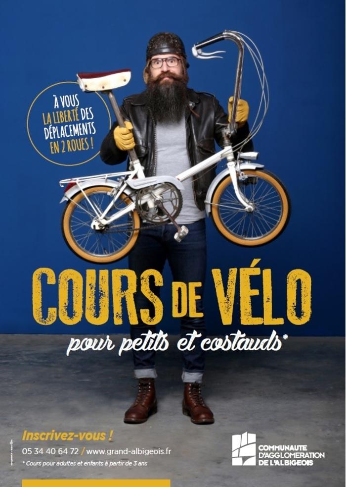 Cours et formations vélo de l'Agglo : adultes, enfants, mini-stage de perfectionnement ou cours pour débutants, à chacun sa formule !