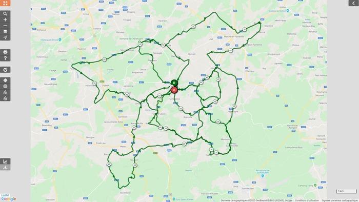 Vélo Club Rochefort - Sortie du dimanche 20 septembre 2020 - Gr. 2