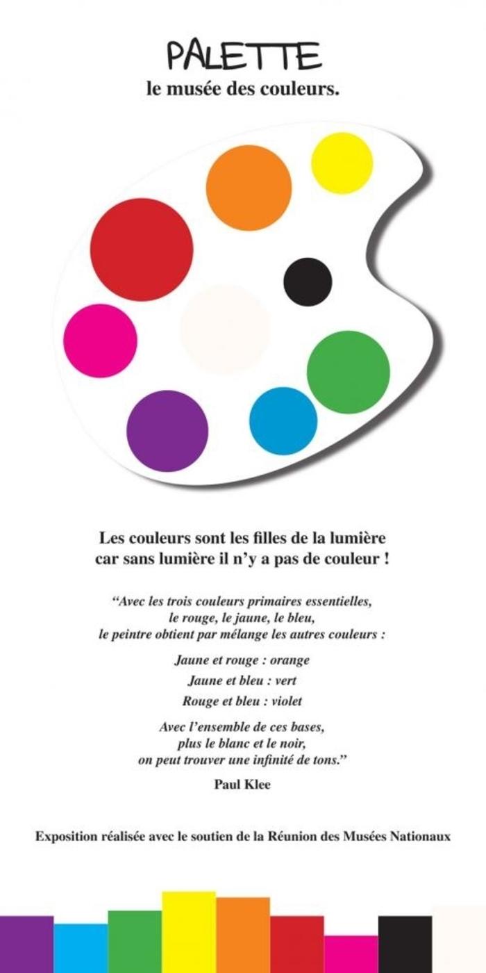 Exposition - Palette, le musée des couleurs