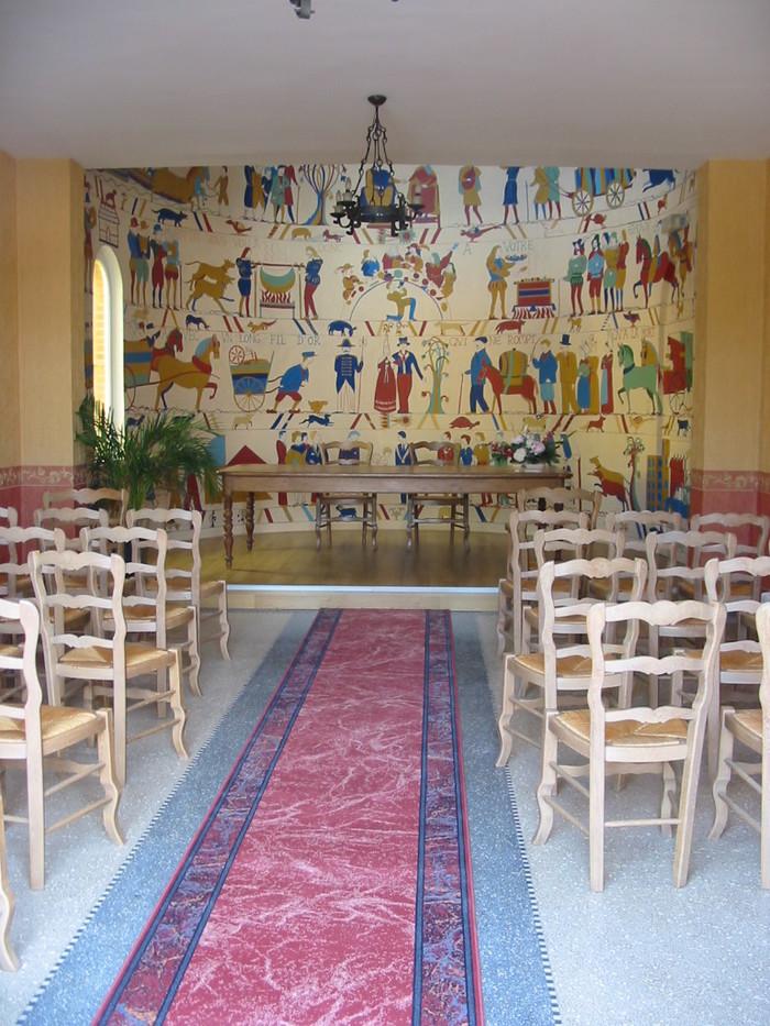 Journées du patrimoine 2019 - Visite libre de la salle des mariages communale