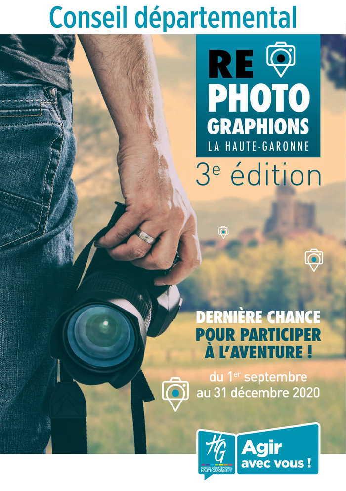 « Rephotographions la Haute-Garonne » - 3e édition