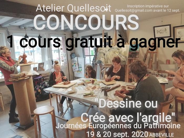Journées du patrimoine 2020 - Atelier découverte de dessin :